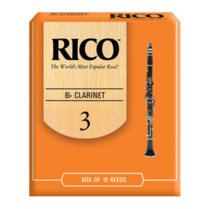 Rico clarinet reeds. 5 pack.